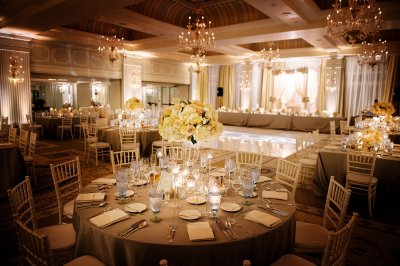 Lovely Ceremony Decor at the Hotel Casa Del Mar