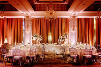 The Colonnade Ballroom at the Hotel Casa Del Mar Wedding Photography