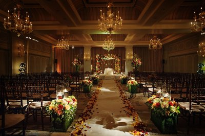 Stunning Ceremony Decor at the Hotel Casa Del Mar