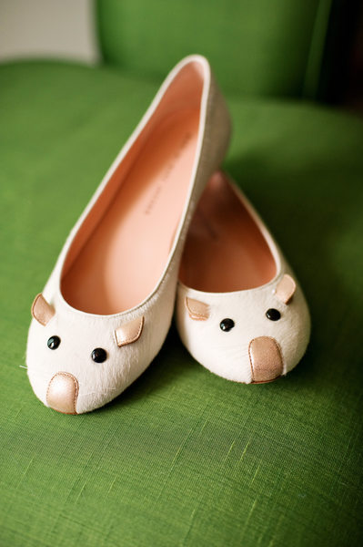 Wedding Details - Cute wedding mouse shoes