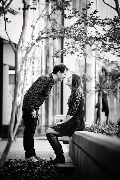 Engagement Session Photography in Downtown Los Angeles