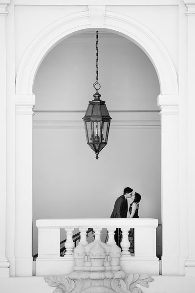 Engagement Session Photography at Pasadena City Hall