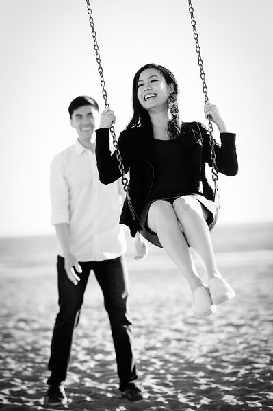 Swing Engagement Session Photography
