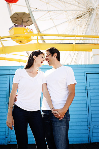 Pier Engagement Session Photographer