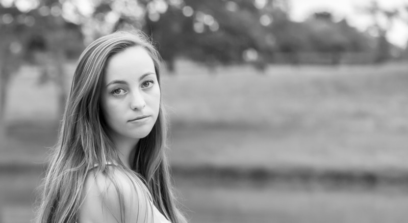 Boxwood winery High School Senior Portrait