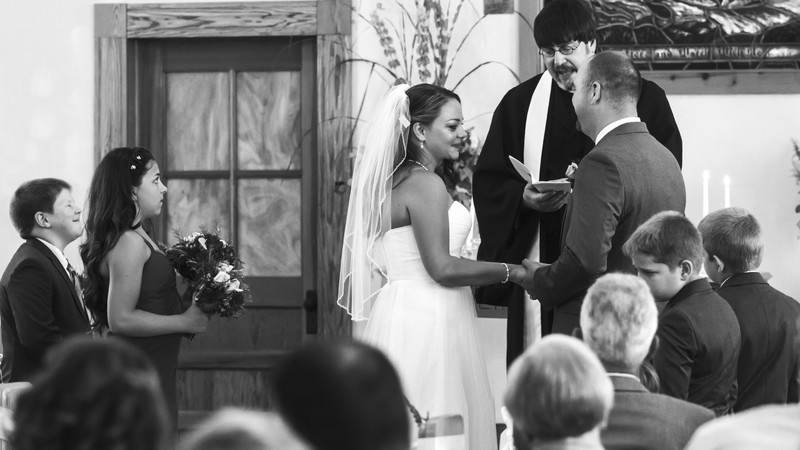 Wedding vows for blended family Charlottesville Wedding