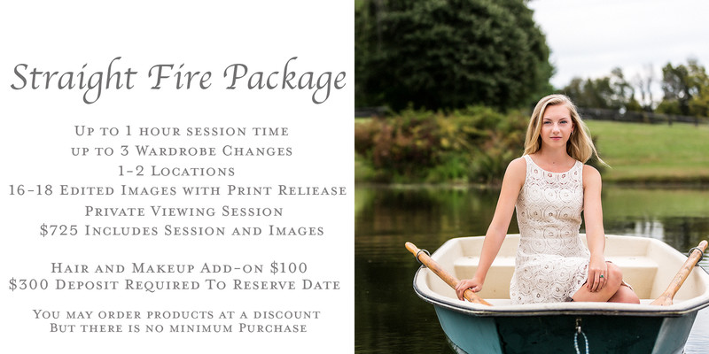 Senior Portrait Pricing Page Image of Senior Girl