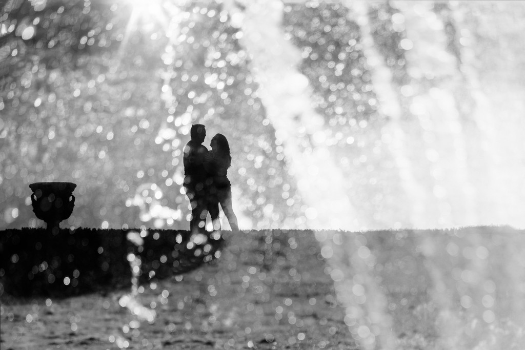 Couples Anniversary Destination Portraits Versailles