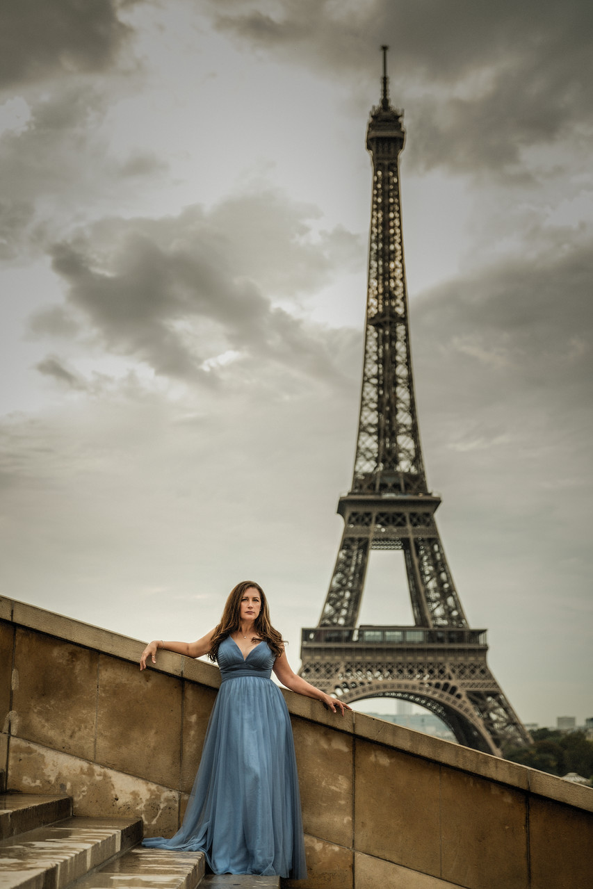 Destination Portrait | Paris Portraits | Arnel Gonce Photography