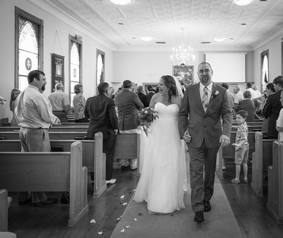 Wedding Exit  Arnel Gonce Photography | Charlottesville