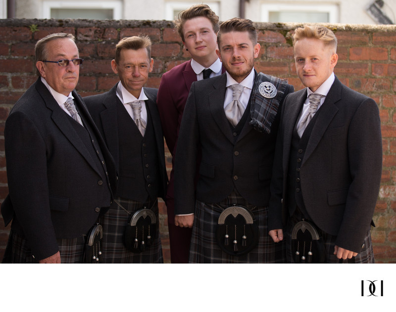 friends ayrshire wedding