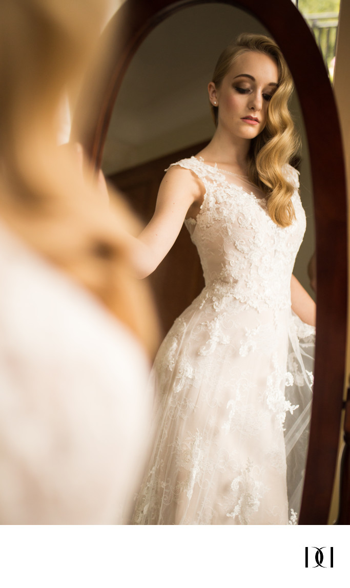 bridal shoot at enterkine house and hilton glasgow