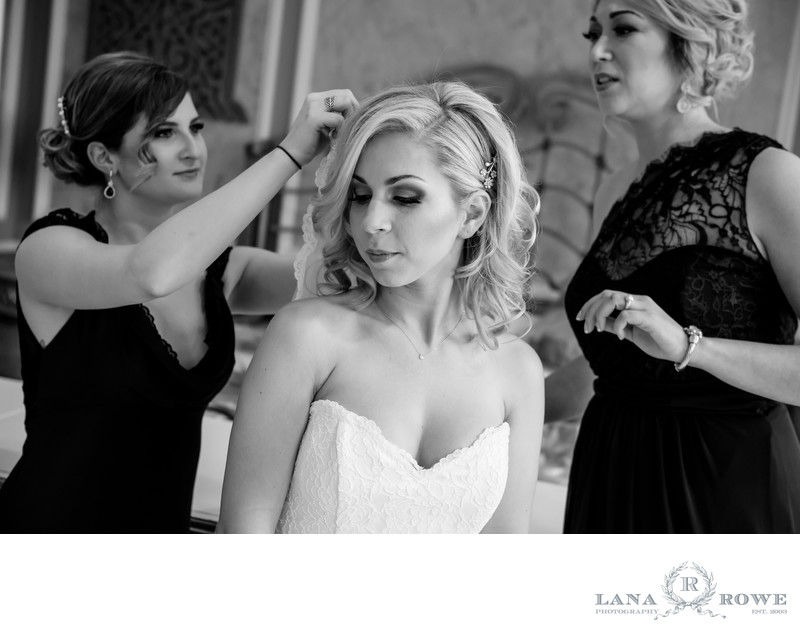 stonebridge bride getting ready