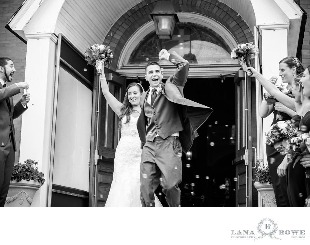 St. Killian's church wedding