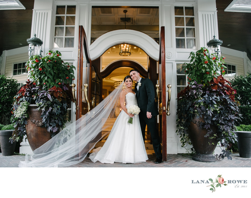 Watermill Caterers grand entrance