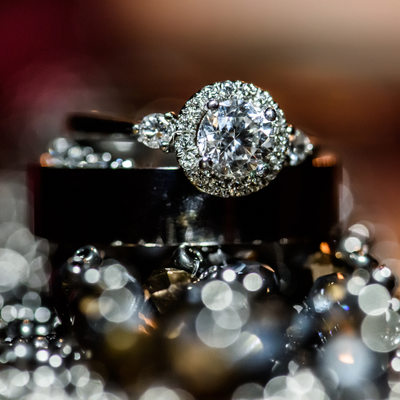 sparkly ring detail Glen Cove Mansion