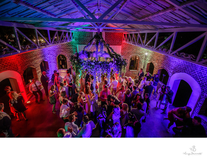 Party Time at Rustic Barn Wedding
