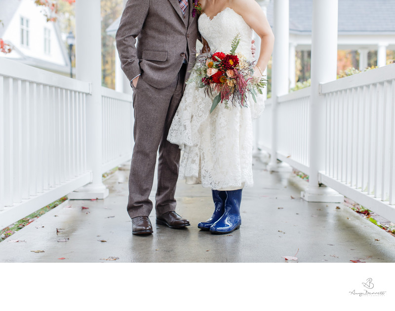 Rainy Vermont Wedding Day