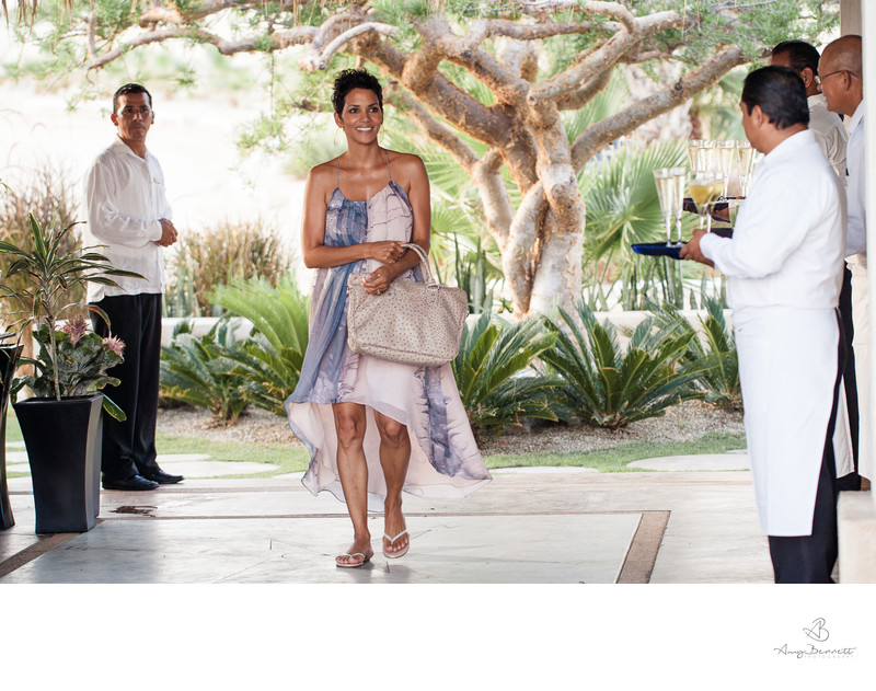 Wedding Photography with Halle Berry