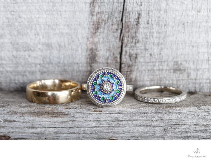 Love's Trinity Wedding Rings