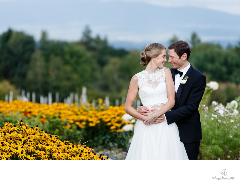 Trapp Family Lodge Wedding Portrait