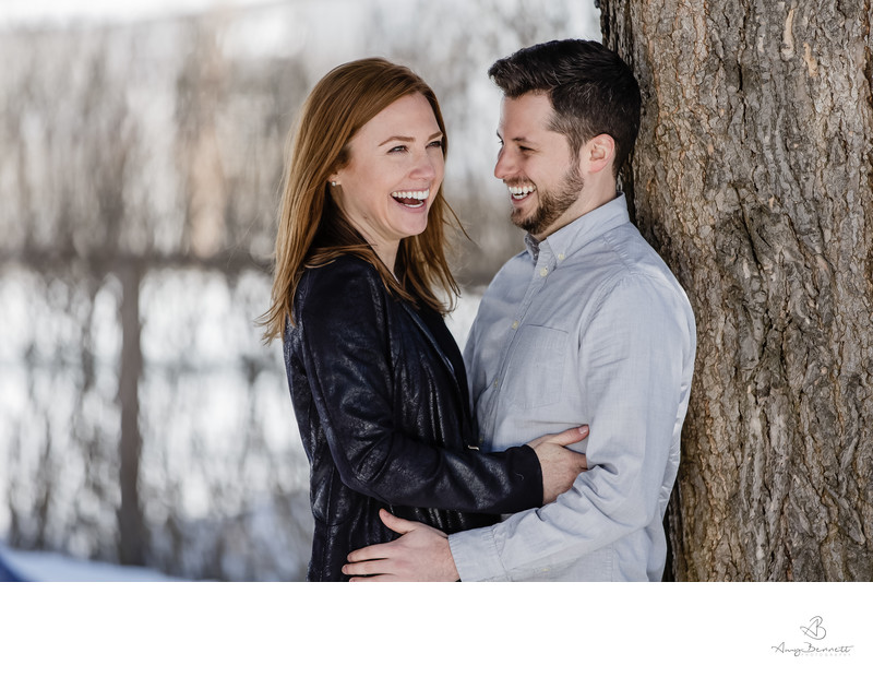 Emotional Vermont Engagement Photography