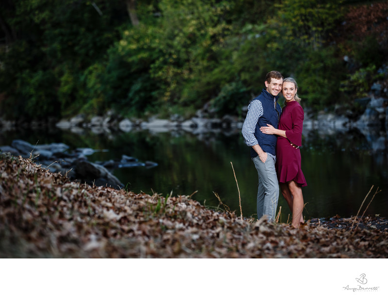 Woodstock VT Engagement Session