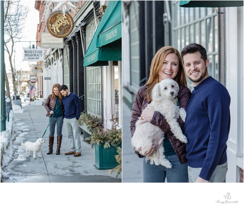 How To Bring Your Dog to Your Vermont Engagement Shoot