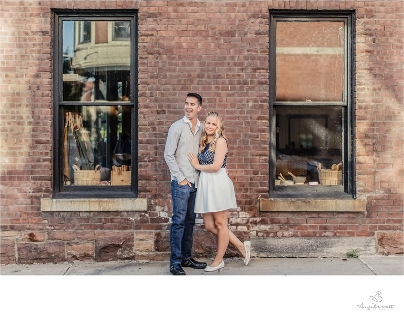 Vermont Engagement Brick Wall Framing