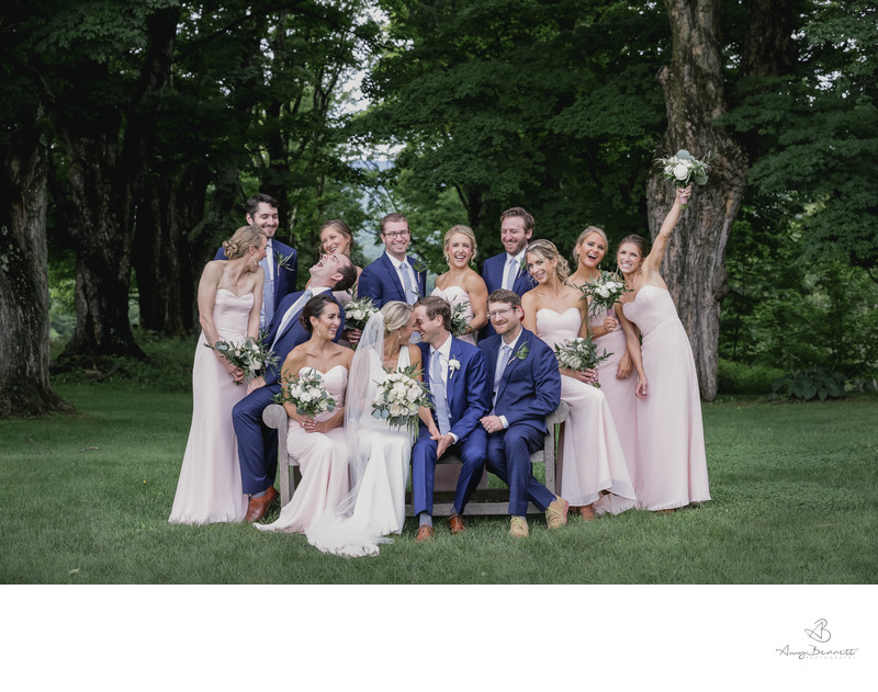 Bridal Party in Vermont
