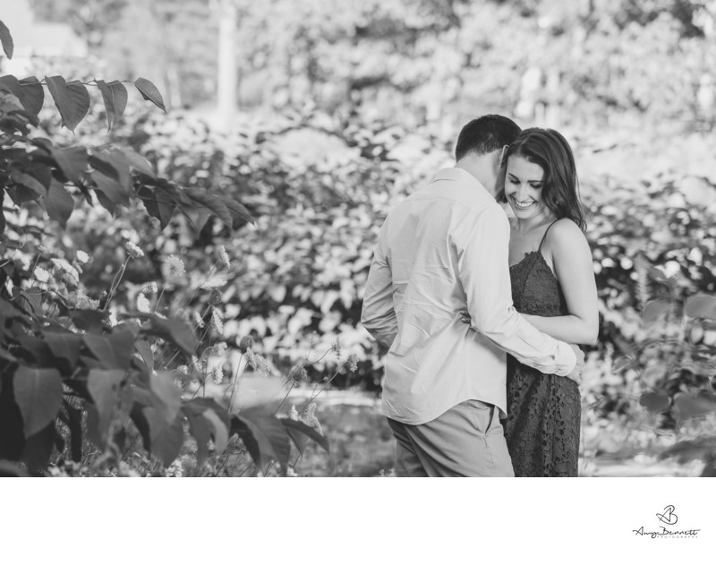 Stowe Vermont engagement photography