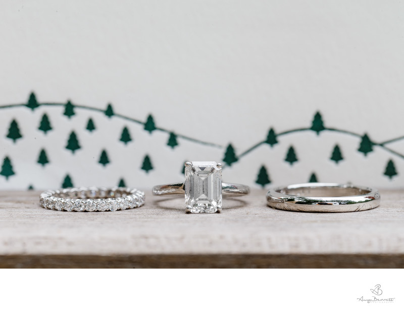 Vermont Pine Tree Wedding Photography Details