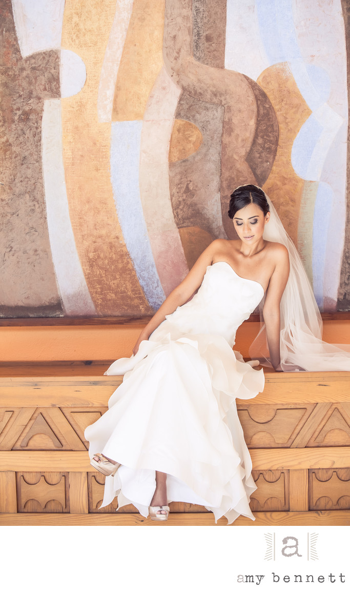 Elegant Destination Bridal Portraits