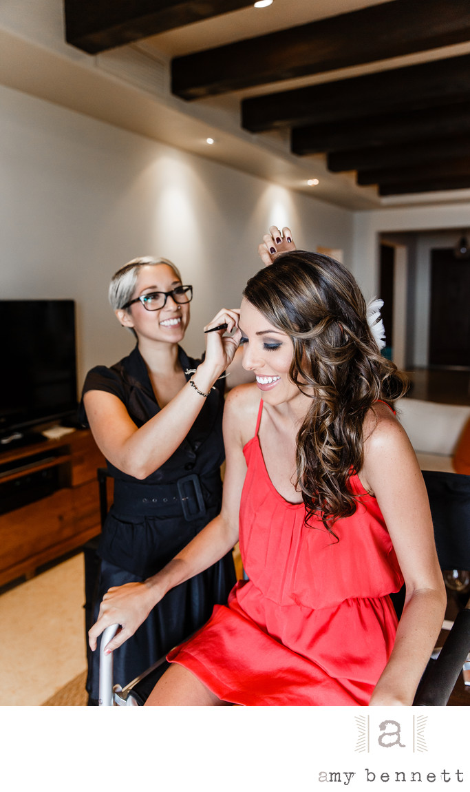 Best Hair & Makeup Teams for Destination Weddings