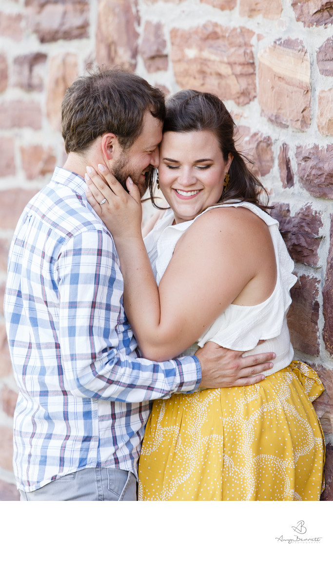 Happy Vermont Engagement Session