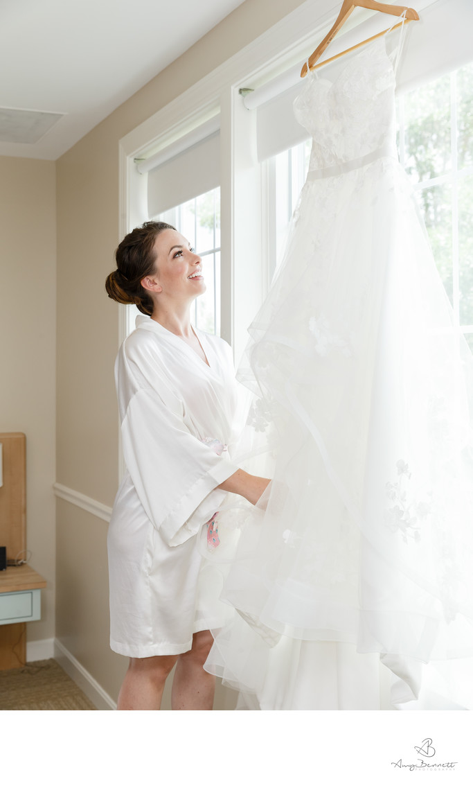 Vermont Wedding Gown Photography