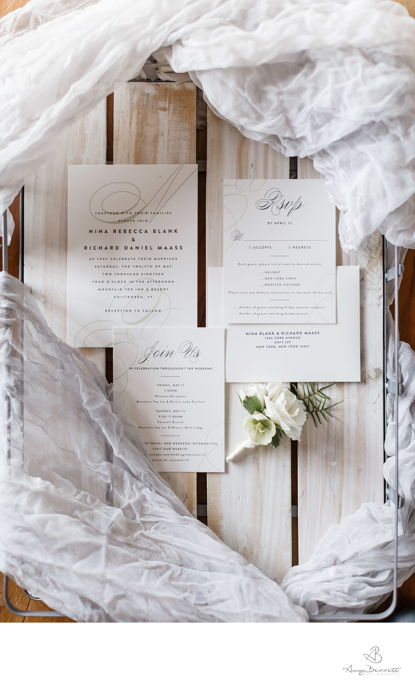 Welcome Box for Vermont Destination Wedding