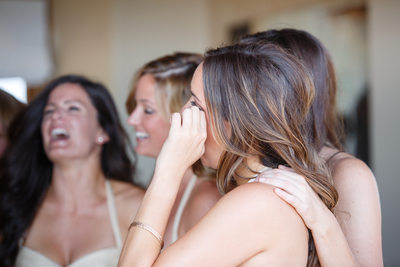 Tears from Laughter Candid Wedding Photographer