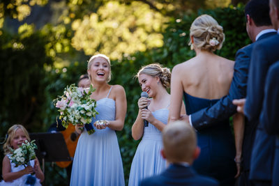 Laughing Bridesmaids' Speech
