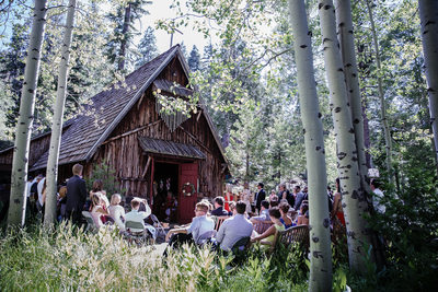 Wilderness Wedding in Lake Tahoe