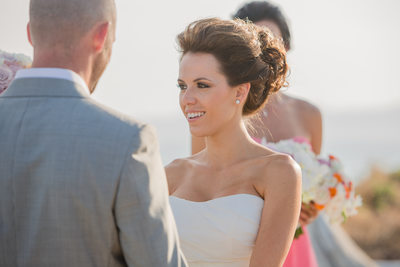 Stunning Bride During Vows