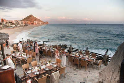 Reception Tables on the Ocean