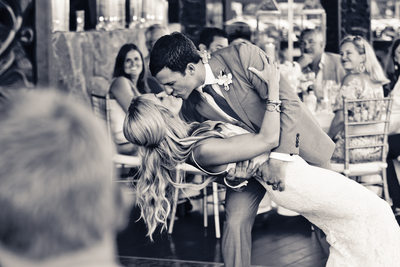 Elegant First Dance Dip