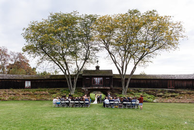 Shelburne Museum Wedding Ceremony