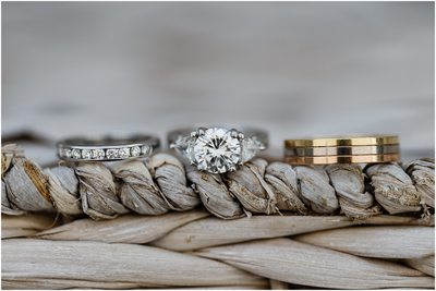 Destination Wedding Photography Nautical Rings