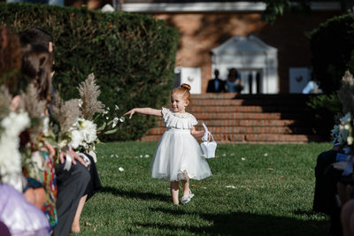 Sassy Flower Girl Portrait Photography