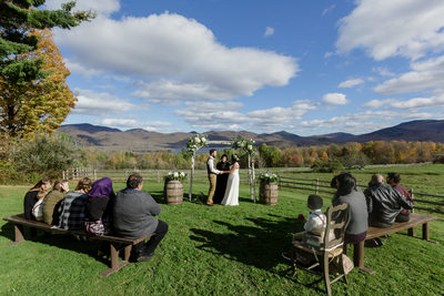Wedding at Family Home in Vermont