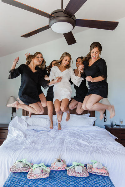 Jump on the Bed Portrait Photography
