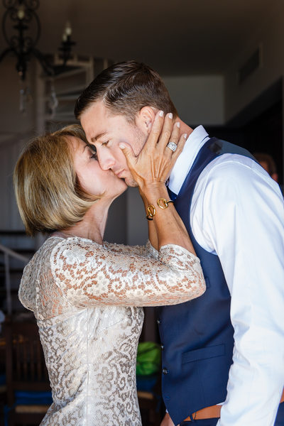 Mother of the Groom Kiss