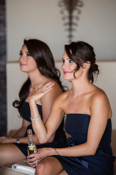 Emotional Bridesmaids Candid